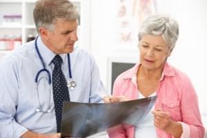 Radiografía. Una Proyección de abdomen