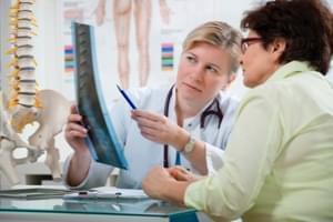 Radiografía. Una proyección de columna completa (30 x 120)